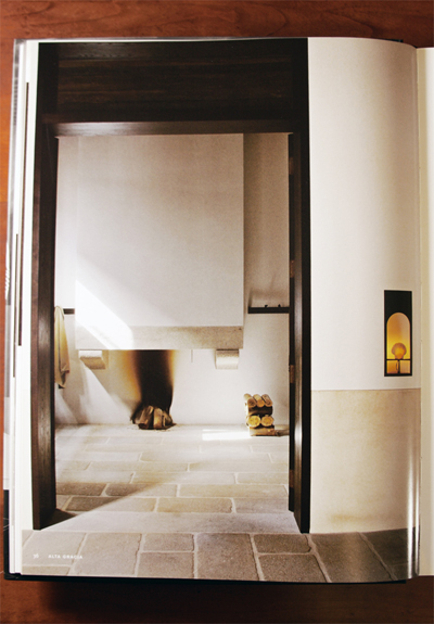 Lime paint wall finish and Marmorino plaster walls by Christian Liaigre in Alta Gracia Spain