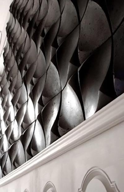 Dune Cast concrete tile by Stephen Lindsay