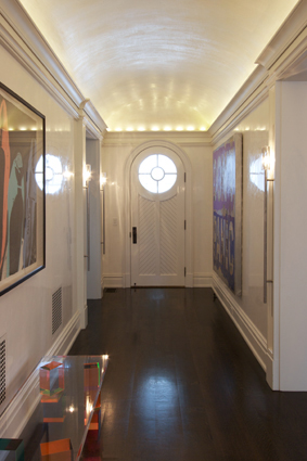 Venetian Plaster in an Upatate New York Home