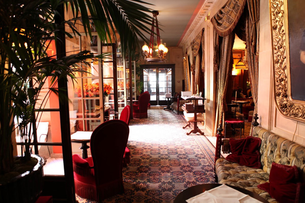 Hotel Costes in Paris by Jacques Garcia
