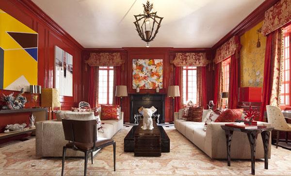 Inson Wood Holiday House NY Interior Design