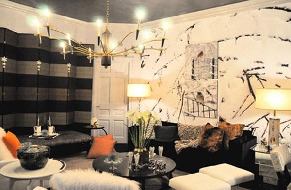 Irwin Feld Design Holiday House NY Interior Design