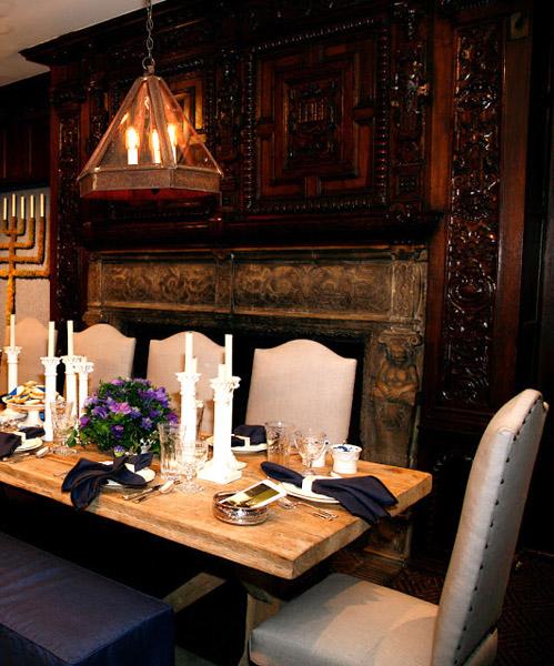 Mark Epstein Holiday House NY Interior Design