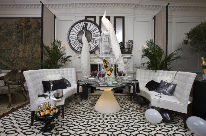 Timothy & Associates Interior Design Holiday House NY